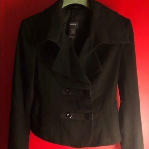Mexx Double Breasted Women's Blazer In Black